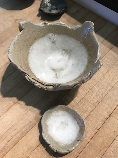 Tableware by Lynn Mahon seen at Ojai Valley Inn, Ojai - Natural Bowls