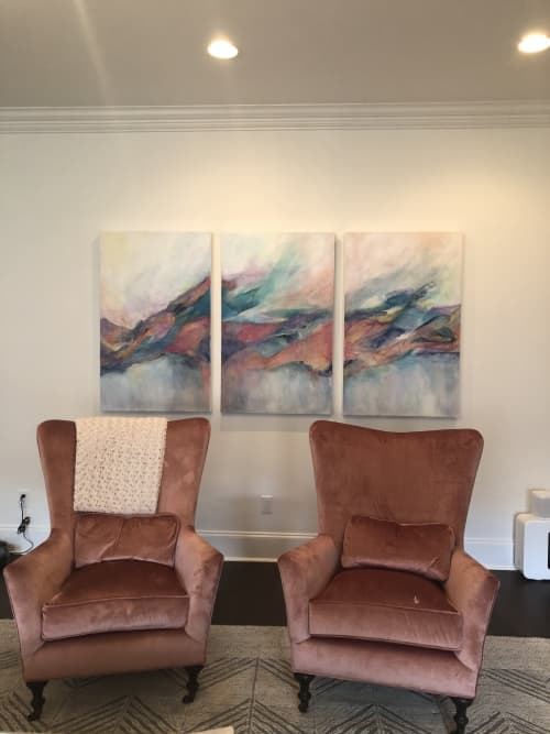 Paintings by Barbara Rubenstein - A Deeper Place