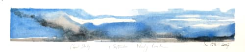 Paintings by ISA CATTO STUDIO - Cloud Study I: September Woody Creek