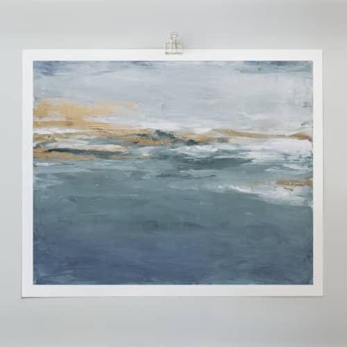 Honey & Sage - Canvas Print | Paintings by Julia Contacessi Fine Art