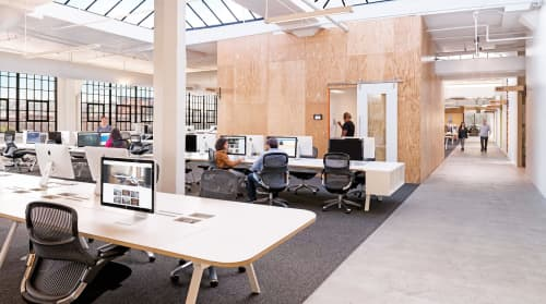 Tables by Mike & Maaike at Airbnb Office SF, CA, San Francisco - Watson Tonic Furniture System