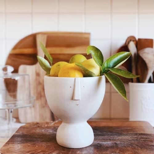 Lenny Lemon Bowl   Tableware by Kristina Kotlier