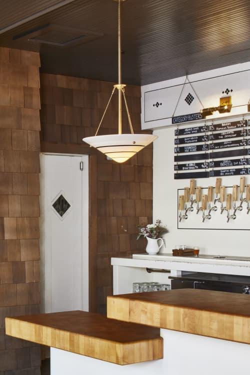 Furniture by Boomtown Design at Banger's Sausage House & Beer Garden, Austin - Custom Bar Top