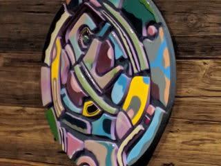 Paintings by Jfrancisdesigns seen at Elixr Coffee Roasters, Philadelphia - Painting for mural unveiling