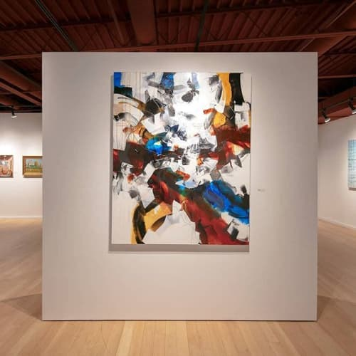 Invitational Exhibition at Moberg Gallery in Des Moines Iowa | Art Curation by Johanne Brouillette | 2921 Ingersoll Ave in Des Moines