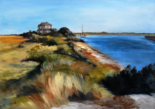 Land's End   Paintings by Keith Doles