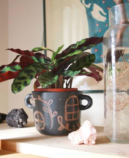 Ceramic Planter   Vases & Vessels by Lexa Luna Studio