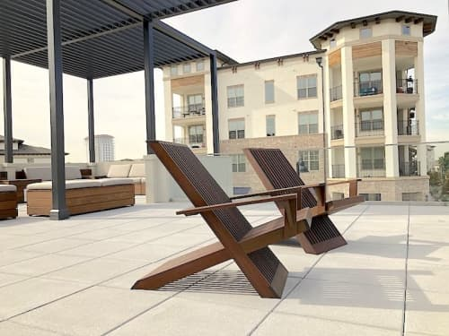 Chairs by Stål Timber - Design and Build Company seen at RESULTS Center, Flower Mound - Stål Lounge Chairs