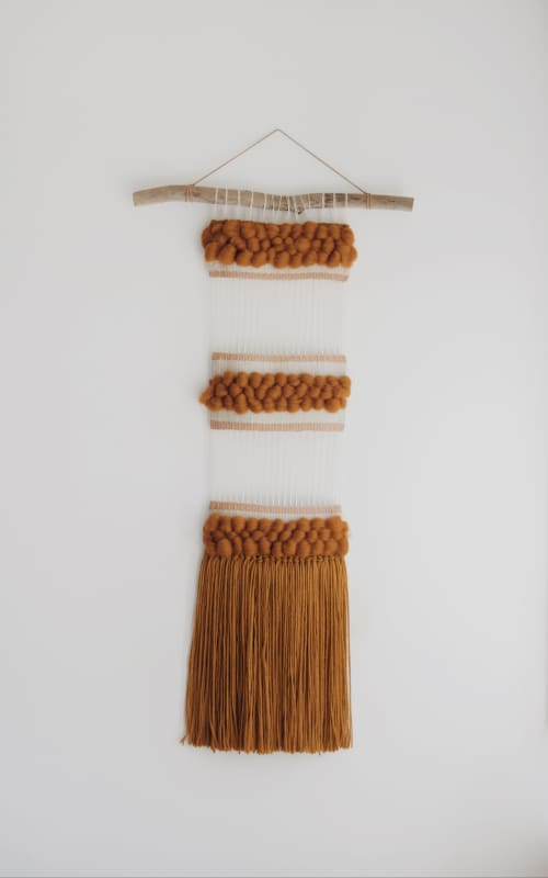 Fall Sunrise Weaving | Wall Hangings by The Northern Craft