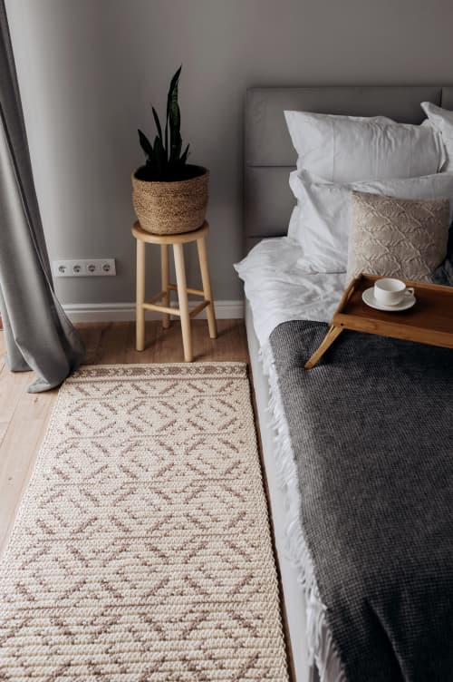 Rugs by Chasha Home seen at Private Residence, Tomsk - Rhombus Сarpet