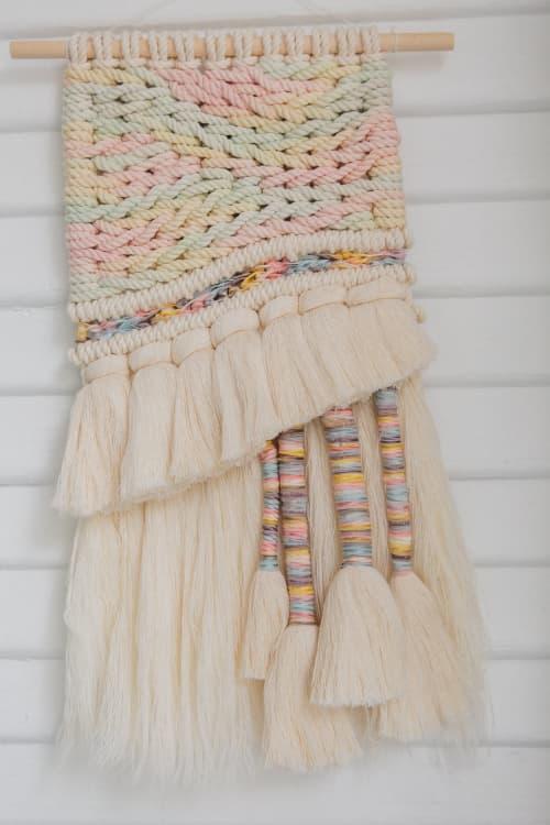 Dinner Mint Macrame Weave | Macrame Wall Hanging by Demi Macrame & Designs