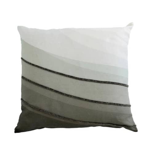 Pillows by Jill Malek Wallpaper - Melt Pillow | Noir