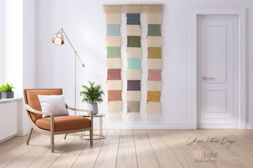 Nohemi - weaving wall hanging | Wall Hangings by Lale Studio