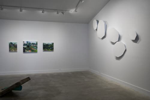 Sculptures by Dameon Lester seen at grayDUCK Gallery, Austin - Glacier Crush