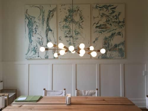 Sputnik Dining Room Chandelier | Chandeliers by Southern Lights Electric