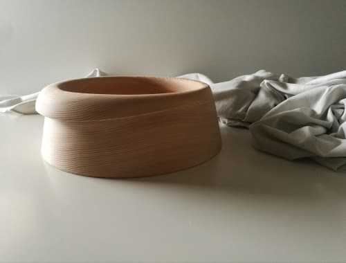 Tableware by woodappetit seen at Private Residence, Prague - Folded Bowl