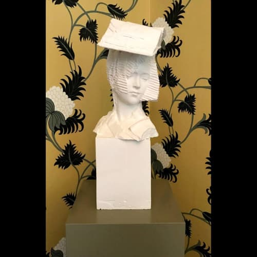 Bookworm | Sculptures by Kathy Dalwood | Hotel de Rome in Berlin