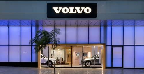 Volvo-Honda Main Showroom Herzliya   Lighting Design by Rama Mendelsohn Lighting Design