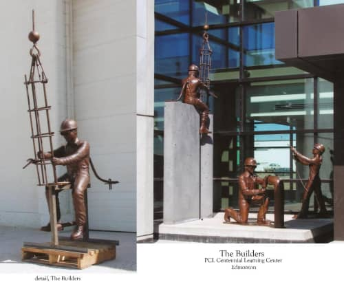 Builders, The | Public Sculptures by Don Begg / Studio West Bronze Foundry & Art Gallery