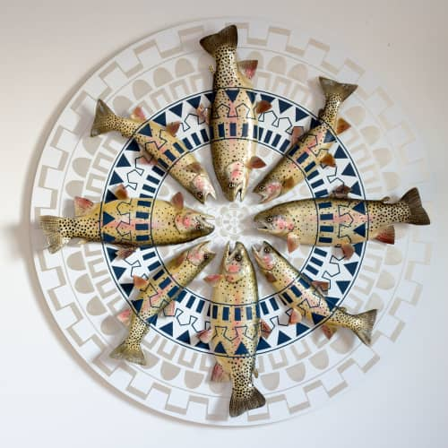 Sculptures by Cassandra Smith - Pattern Fish Board