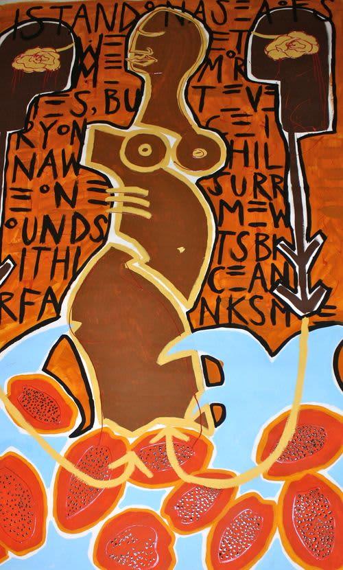 Layered Self | Paintings by Paula Gasparini-Santos