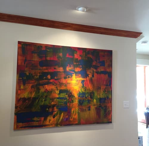 Paintings by Jen Sterling seen at Private Residence, Annapolis - Intersections