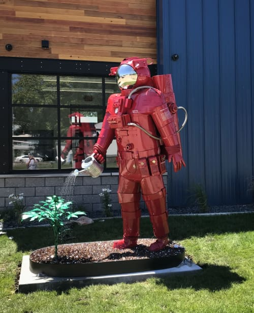 Pioneer | Public Sculptures by Innovative Sculpture Design