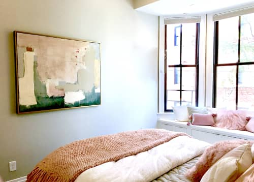 Paintings by Glenna Adkins seen at Private Residence, Cincinnati - Abstract Painting