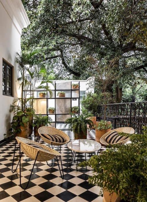Chairs by Mexa seen at Juana Bautista - hotel boutique, San Pedro Tlaquepaque - Todos Santos Lounge Chair