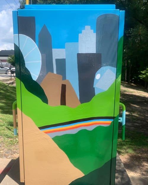 Murals by Between the Evergreens - City of Atlanta Mural