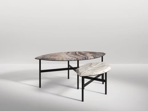 Tables by SECOLO seen at Creator's Studio, Milan - Book One Coffee Table (large)