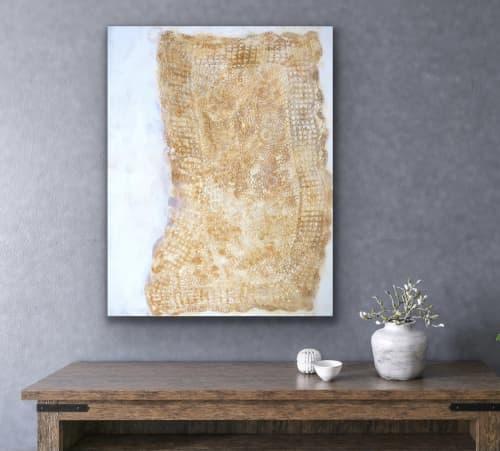 "Paintings by willa vennema seen at Creator's Studio, Portland - Handwork Series: Grace"""