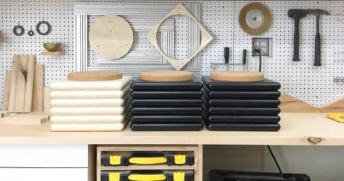 Ridge Stool | Chairs by Trey Jones Studio | Trey Jones Studio in Washington