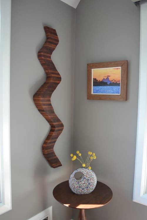 Wall Installation   Sculptures by Lutz Hornischer - Sculptures & Wood Art   San Francisco in San Francisco