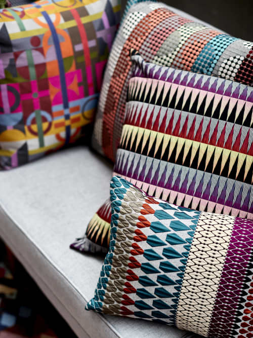 Calypso Cushion | Pillows by Margo Selby