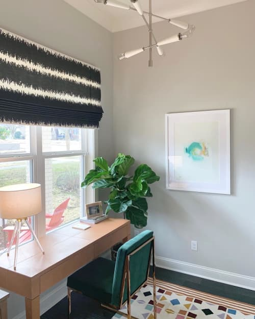 Paintings by Hillary Butler (Fine Art) seen at Private Residence, Memphis - Abstract Painting