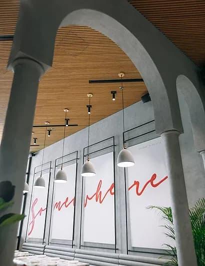 Interior Design by Bells & Whistles seen at Somewhere, Dubai - Interior Design
