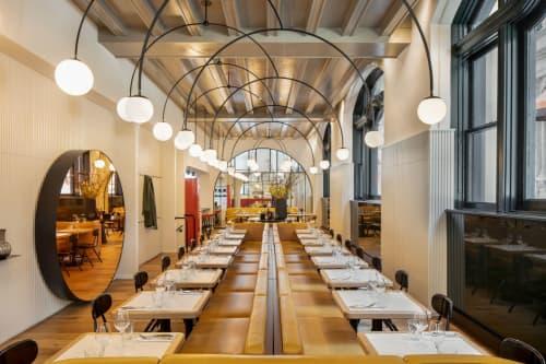 Dandy Restaurant | Interior Design by BLAZYSGERARD | Dandy in Montréal