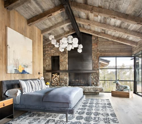 Beds & Accessories by Molteni & C seen at Private Residence, Big Sky, Big Sky - Bed