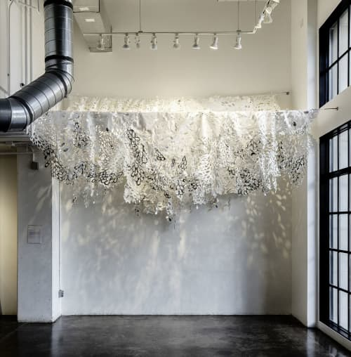 Wall Hangings by Allison Svoboda seen at Walker Fine Art, Denver - Vortices
