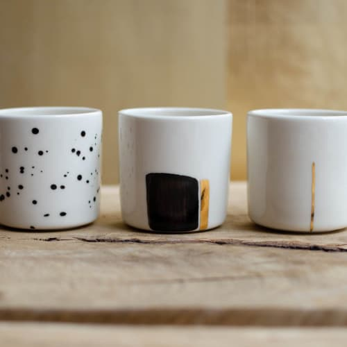 Moscata cups, cappuccino and espresso size   Cups by Boya Porcelain