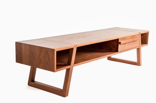 Furniture by Project Sunday seen at Project Sunday Studio, Salt Lake City - Makore Console