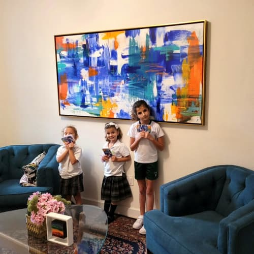 Paintings by Jen Sterling seen at Private Residence, Miami - We Are Who We Are