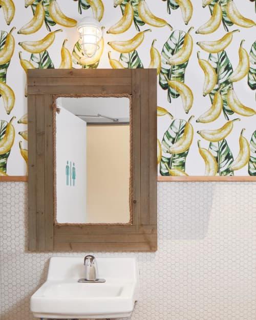 Wallpaper by Jumanjii at Blenders and Bowls, Austin - Banana Leaves Wallpaper