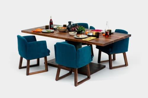 Tables by ARTLESS seen at Private Residence, Los Angeles - 2020 Dining Table
