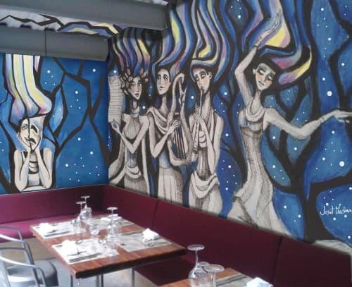 Las Musas de las Artes | Murals by Joset Medina | Caliope in Panamá