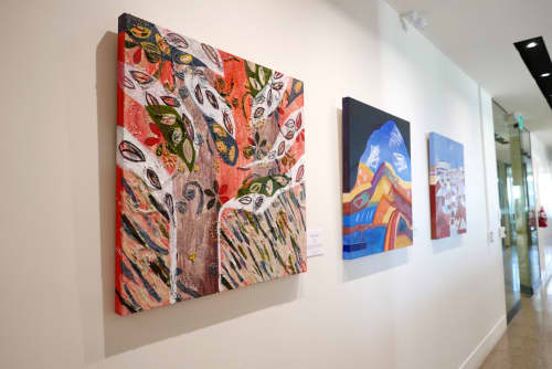 Paintings by Kathy Best Art seen at Melbourne, Melbourne - Red Gum