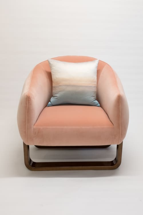 The Milo Armchair | Chairs by Marie Burgos Design and Collection | New York in New York