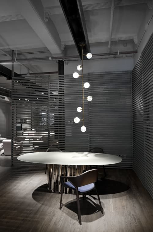 Helix Vertical Pendant   Chandeliers by Lumifer by Javier Robles   New York in New York