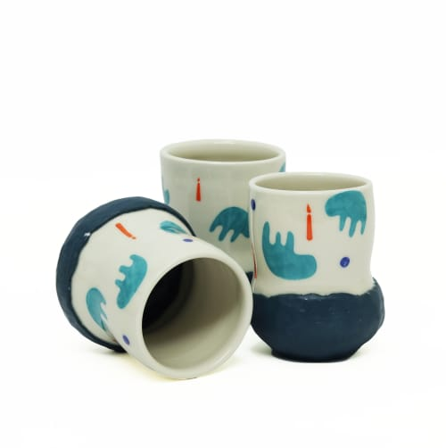 Sad Flop and Light a Candle Cup | Cups by Coco Spadoni